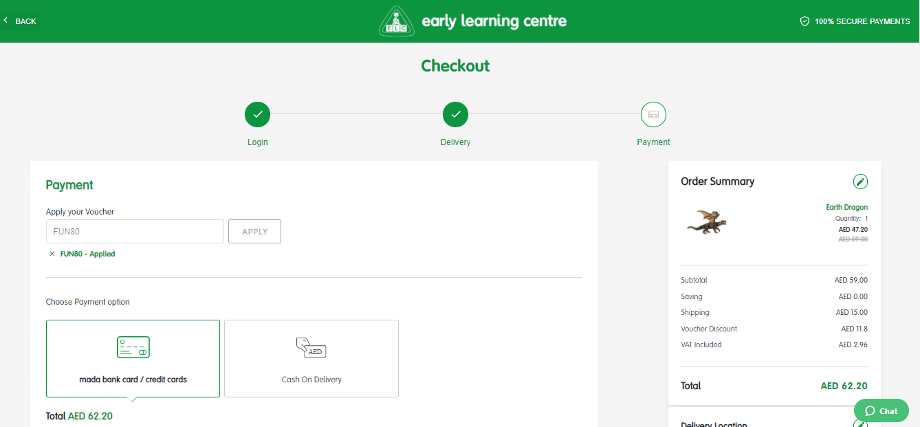 Early Learning Centre Coupon Code
