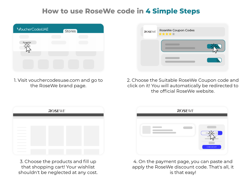 Rosewe Promotional Code