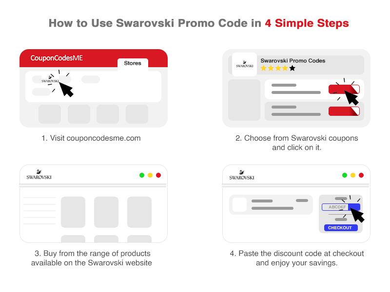 Swarovski coupon code.