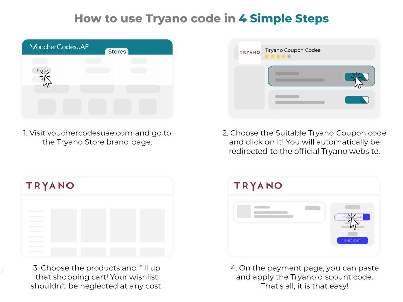 Tryano Coupon Codes