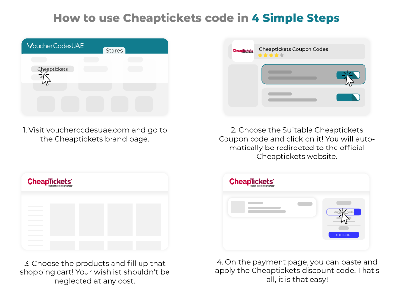 CheapTickets Discount Code