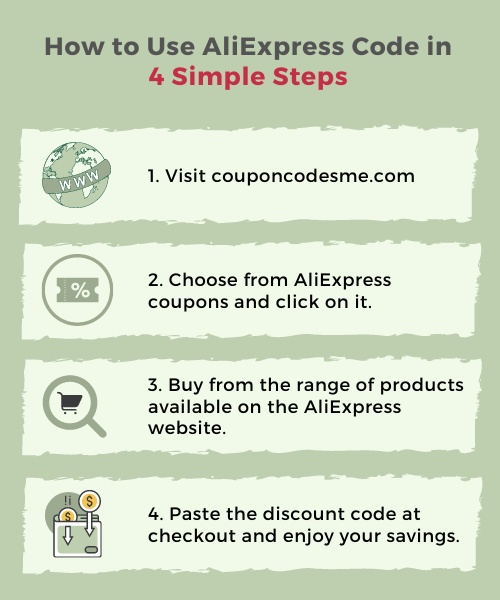 how to use the AliExpress Code