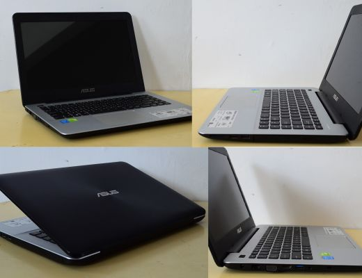 Laptop Asus Core I3 Ram 4GB 4 Jutaan