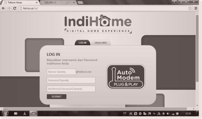 Gambar Panel Wifi Indihome