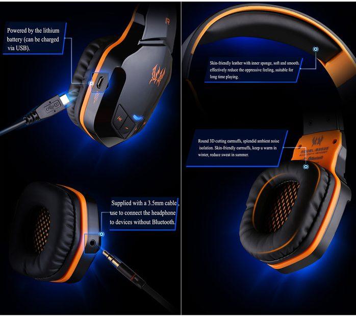 headset bluetooth gaming