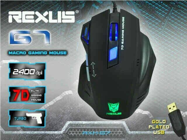 Rexus Mouse Gaming Rexus G7 7 Button