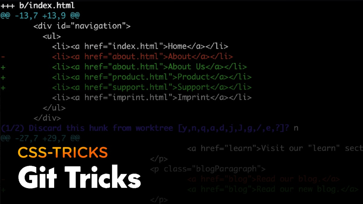 Thumbnail for #192: Git Tricks for Getting Yourself Out of Trouble