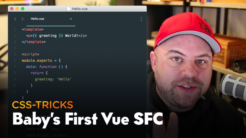 Thumbnail for #182: Baby's First Vue SFC