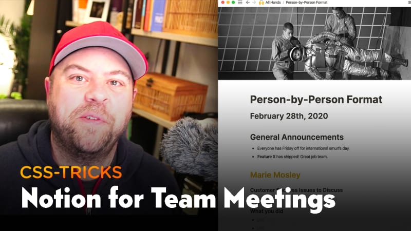 Thumbnail for #187: Notion for Team Meetings & Documentation