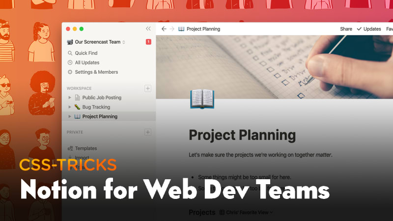 Thumbnail for #186: Notion for Web Development Teams