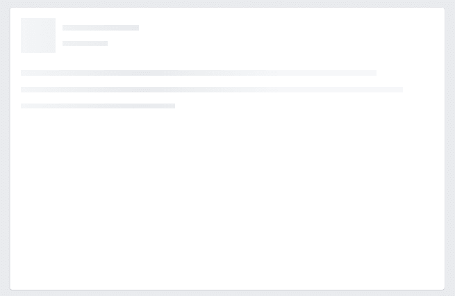 Улучшаем юзабилити в вебе или создание  Skeleton Screens с CSS