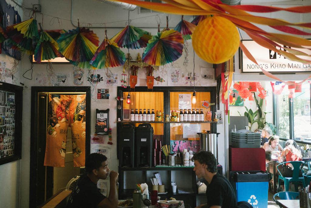 Interior at Nong's