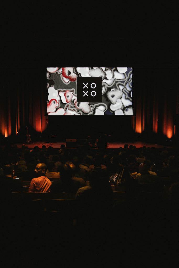 XOXO venue in between talks