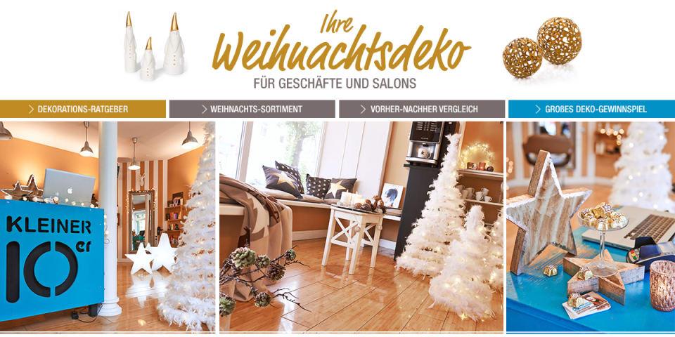Weihnachtsdeko Katalog.Ihre Weihnachtsdeko Für Geschäfte Und Salons