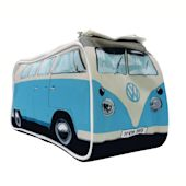 Kulturbeutel VW-Bus, 3 Zusatztaschen Vorderansicht
