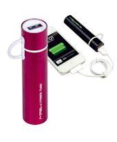 Ersatzakku, Power Tube 2600M, 2 USB-Buchsen, Kapazität 2.600 mAh Vorderansicht