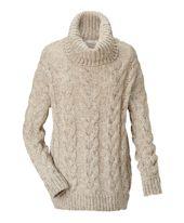 Pullover, Zopfmuster, oversized Vorderansicht