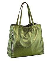 Shopper, Metallic, ca. 34 x 33 x 12 cm Vorderansicht