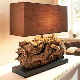"""Tischleuchte """"Wood II"""", Naturholzve..."""