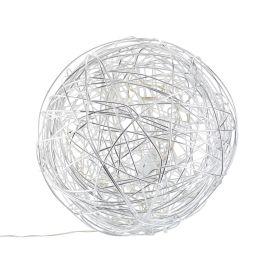 miaVILLA - Bodenleuchte Ball, Alumi...