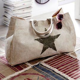 Weekender Star, 100 % Baumwoll / Ca...