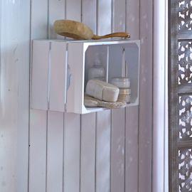 miaVILLA - Wandregal Kiste ca. 40 x...