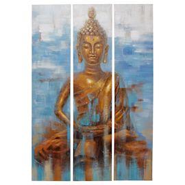 miaVILLA - Bilder-Set, 3-tlg. Buddh...