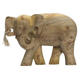 miaVILLA - Dekofigur Holzelefant