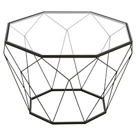 miaVILLA - Couchtisch Tomke, geomet...