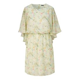 SIENNA - Kleid, Flügeloptik, Nacken...