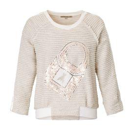 PATRIZIA PEPE - Sweatshirt, Bouclé,...