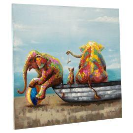 miaVILLA - Bild Babyelefanten, hand...