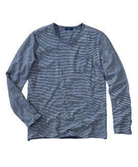 CONLEYS BLUE - Langarmshirt, offene...