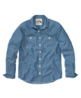 Geelong - Hemd, Indigo, Workshirt-S...