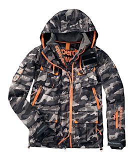 Superdry - Skijacke, Camouflage, Sc...