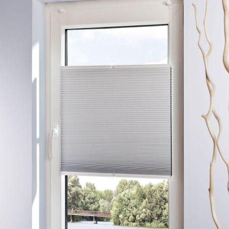 Klemmfix Plissee, Einfache Montage Ohne Bohren, Polyester Detailansicht