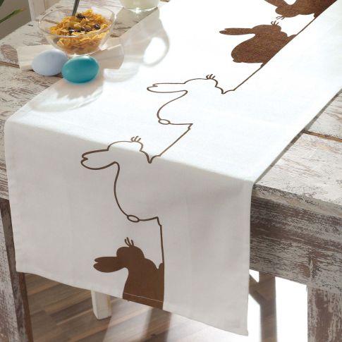 tischl ufer lovely bunny tischdecken und kissenh llen ostern saison. Black Bedroom Furniture Sets. Home Design Ideas