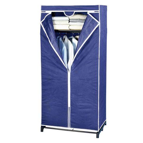 kleiderschrank air blau kleiderstange ablagefl che. Black Bedroom Furniture Sets. Home Design Ideas