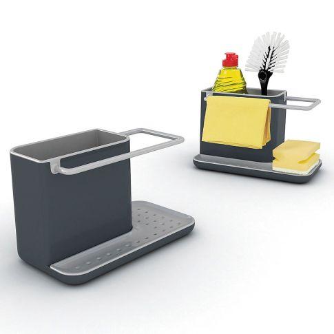 Spülorganizer Caddy, spülmaschinenfest, Kunststoff, Silikon Vorderansicht