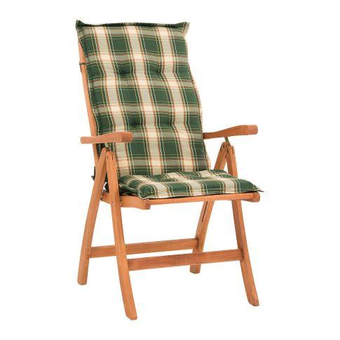 gartenstuhl mit auflage abby klappbar inkl auflagen holz. Black Bedroom Furniture Sets. Home Design Ideas
