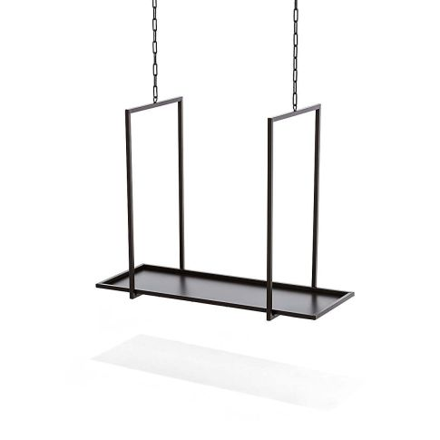 kerzentablett zum h ngen metall vorderansicht. Black Bedroom Furniture Sets. Home Design Ideas
