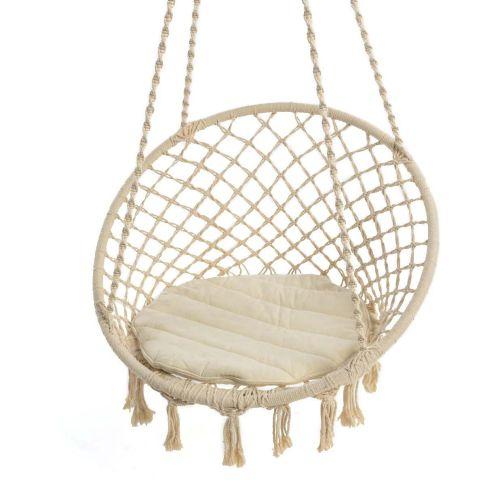 h ngesessel nizza inkl kissen baumwolle polyester gartenst hle gartenm bel garten. Black Bedroom Furniture Sets. Home Design Ideas