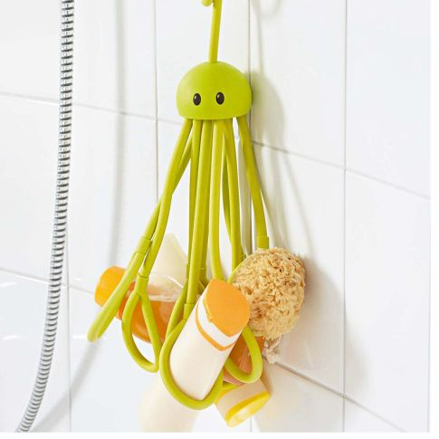 Shampoohalter Octopus, für bis zu 9 Shampooflaschen Vorderansicht