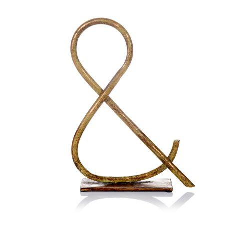 deko zeichen metall deko objekte wohnaccessoires living. Black Bedroom Furniture Sets. Home Design Ideas