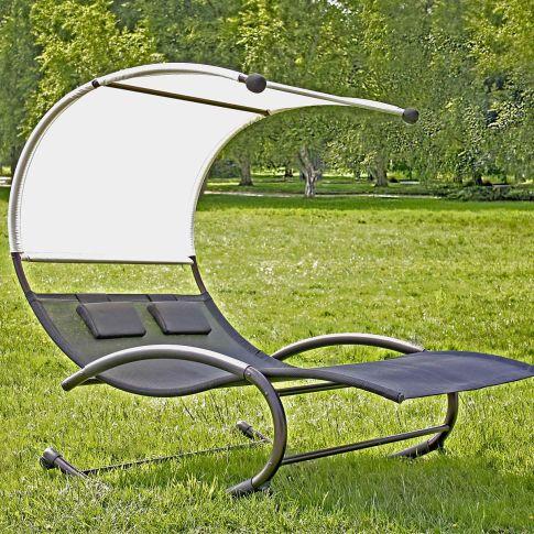 doppelliege garten charmant polyrattan doppelliege. Black Bedroom Furniture Sets. Home Design Ideas