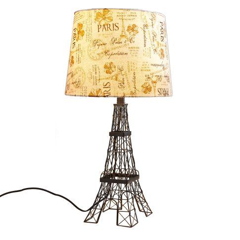 Tischleuchte Eiffelturm Vorderansicht
