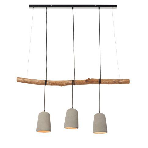 deckenleuchte natur look ast betonschirme. Black Bedroom Furniture Sets. Home Design Ideas