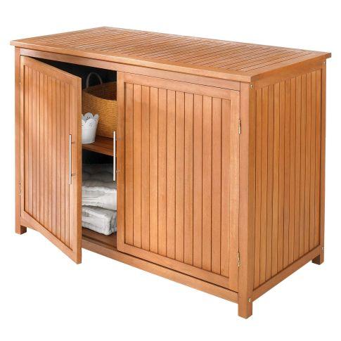 garten konsolenschrank eukalyptusholz. Black Bedroom Furniture Sets. Home Design Ideas