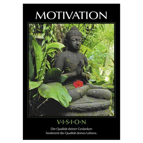 """Wandkalender """"Motivation"""", ohne Druck Vorderansicht"""