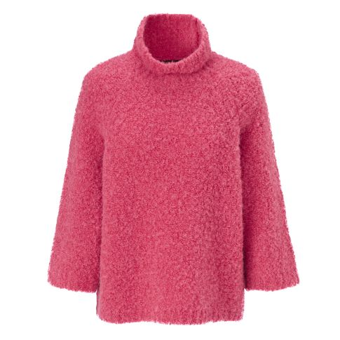 Pullover, Bouclé, oversized Vorderansicht